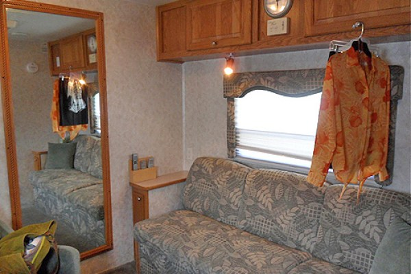 my dressing room trailer