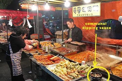 street food korea, food hawkers in korea, food hawkers in asia, korean street food