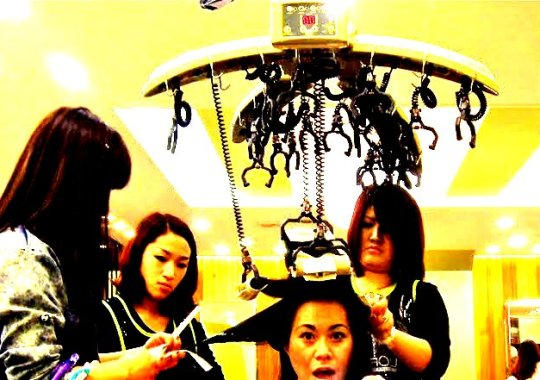 grrrltraveler magic volume in Korea, getting your hair done in Korea, korean hair salons, english speaking hair salons in daegu, magic straight, magic volume