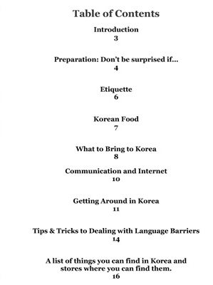 Survival Guide to Traveling in Korea, book by Christine Kaaloa