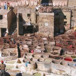 Moroccan Tanneries in Fez & the Unheavenly Scent (Video)