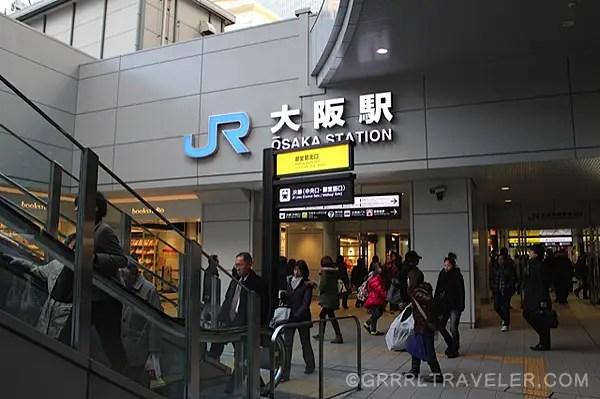 osaka station japan, osaka jr station