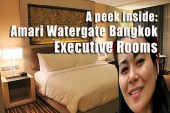 amari watergate bangkok hotel review, amari watergate hotel video