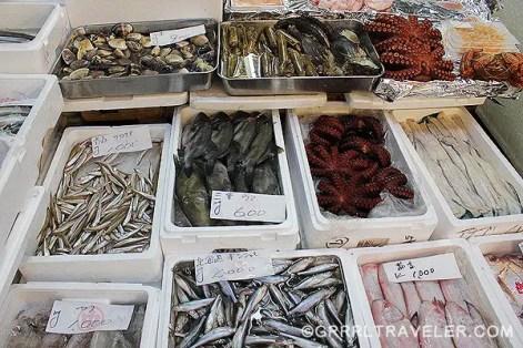 tsukiji fish market, seafood japan, tokyo attractions