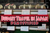 Budget Travel in Japan Demystified