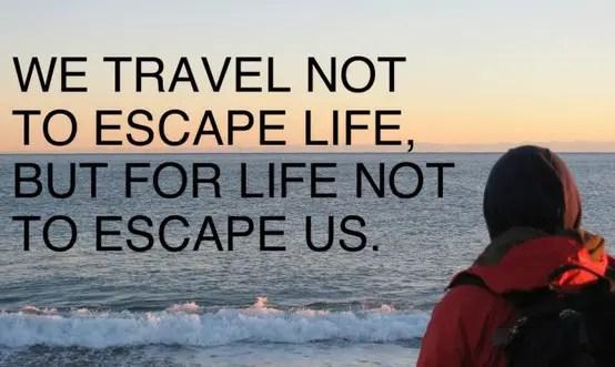 travel quotes anonymous preoccupied destination