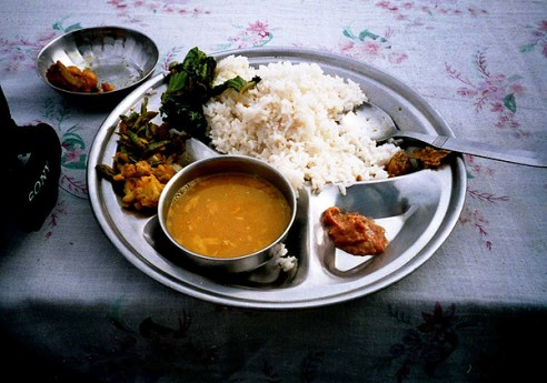 dal bhat, nepalese dal bhat, dishes to try in nepal, must try dishes in nepal, what to eat in nepal