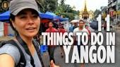 THings to do Yangon