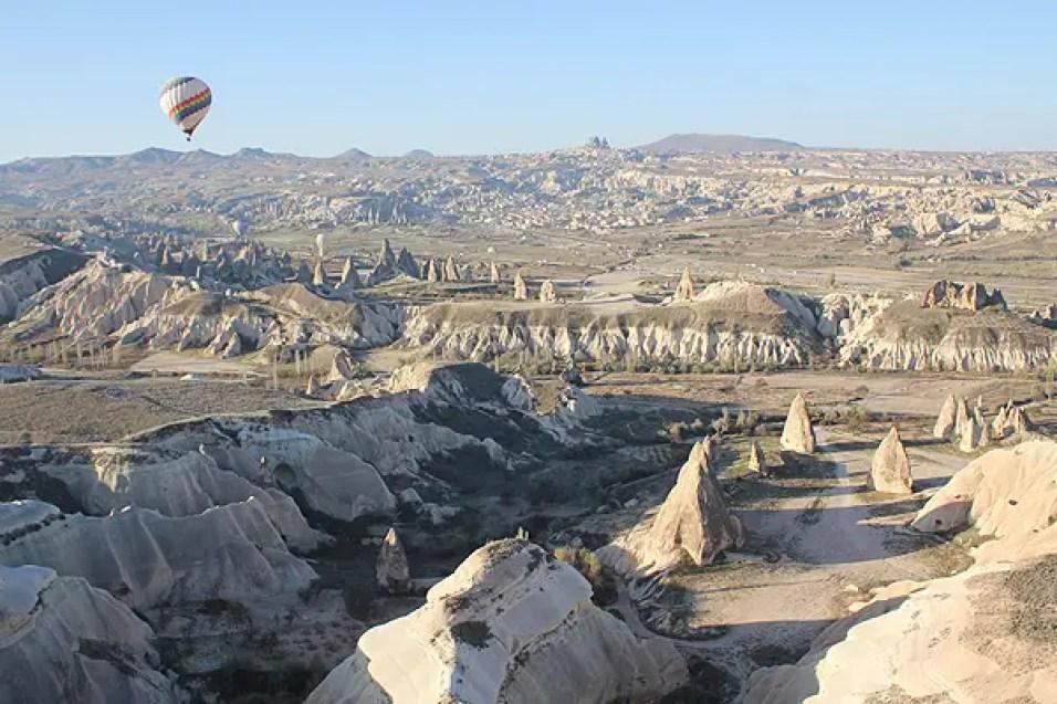 cappadocia topography