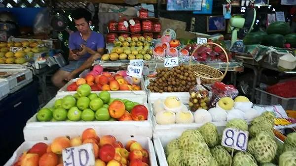 Fruit stall in Bangrak