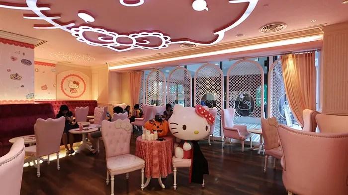 Hello Kitty Cafe Bagnkok, Things to Do in Bangkok, Bangkok Top Attractions, BAngkok highlights