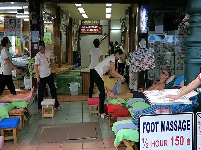 getting a massage in thailand, Things to Do in Bangkok, Bangkok Top Attractions, BAngkok highlights
