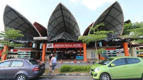 Medan Niaga Satok Market, sarawak market