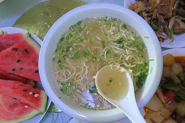 menyouan restaurant noodle soup dish, qinghai cuisine, qinghai food, qinghai travel, qinghai highlights, qinghai best of, qinghai tourism