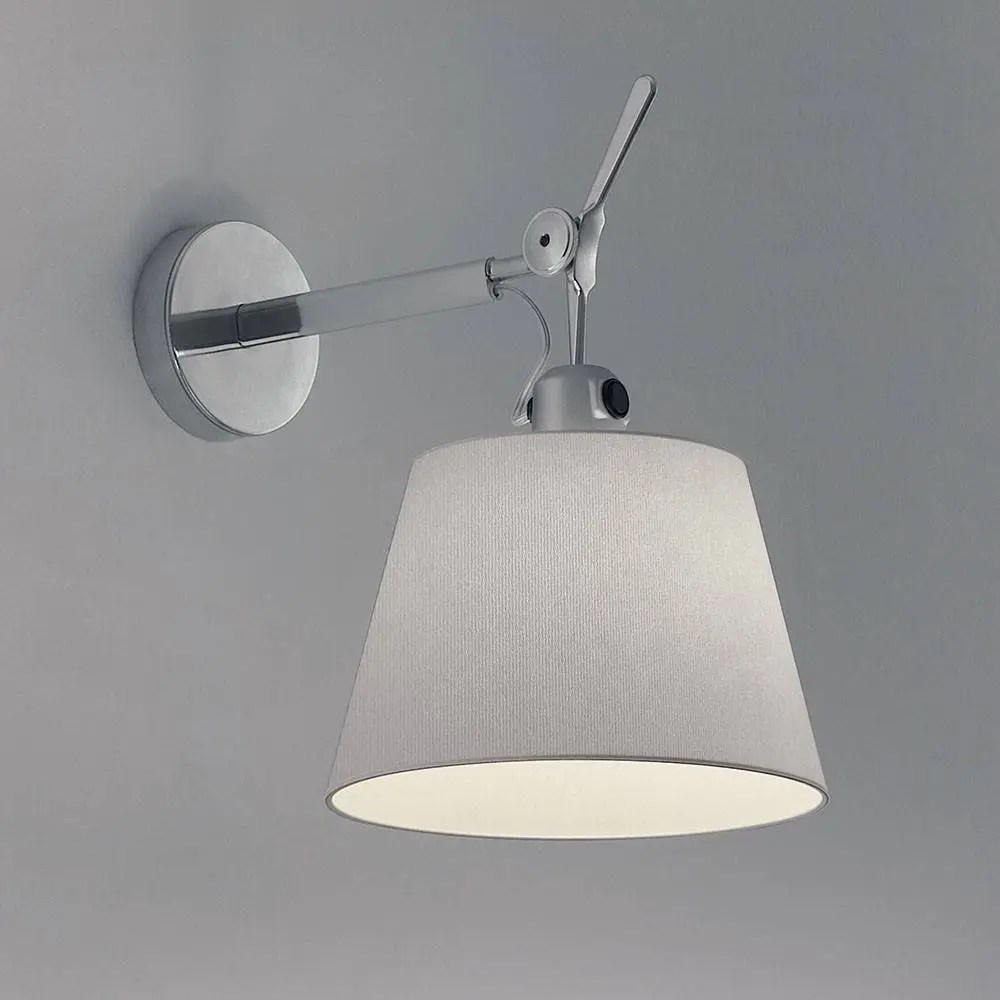 Concrete Wall Finish Options Artemide Tolomeo Shade Wall Lamp - Gr Shop Canada