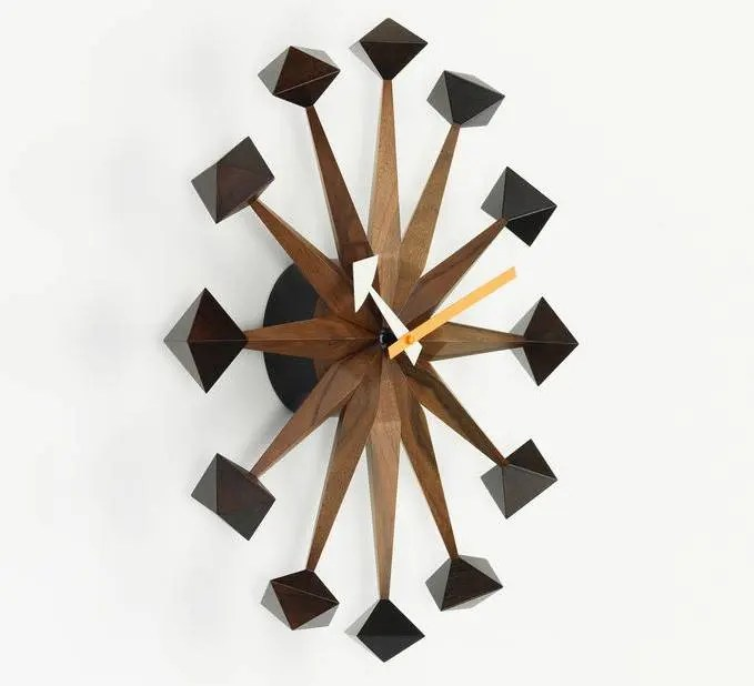 Vitra Clock Vitra George Nelson Clock - Polygon Clock