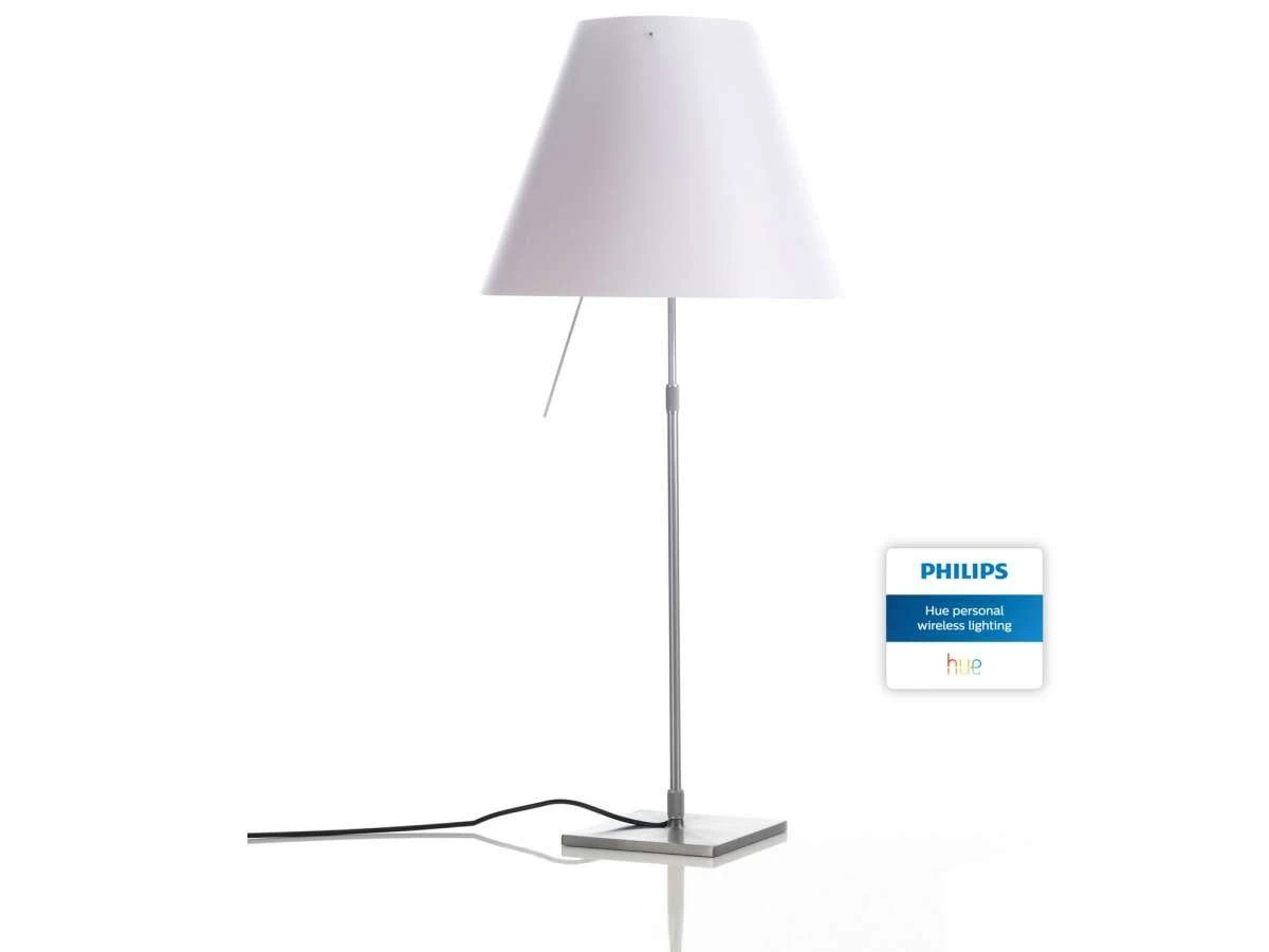 Luceplan Costanza Luceplan Costanza With Philips Hue Table Lamp