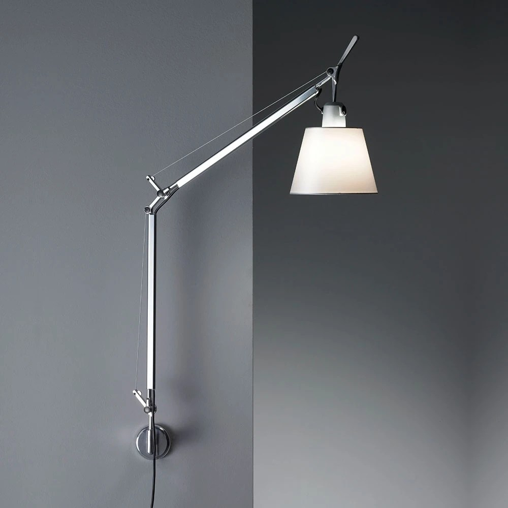 Artemide Tolomeo Artemide Tolomeo With Shade Wall Lamp - Gr Shop Canada