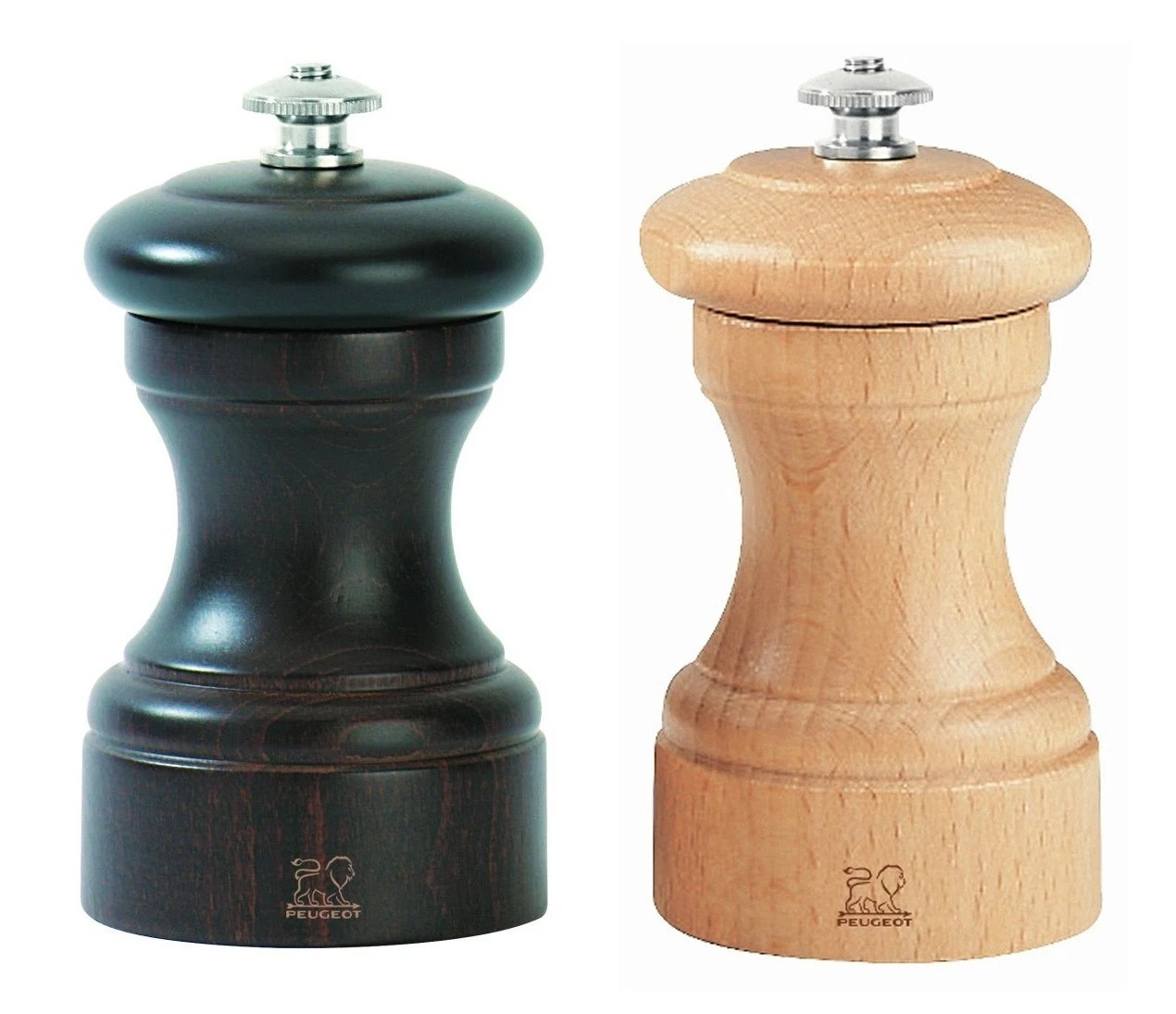 Fancy Pepper Grinder Peugeot Saveurs Bistro Duo Chocolate Natural Pepper Salt Mill