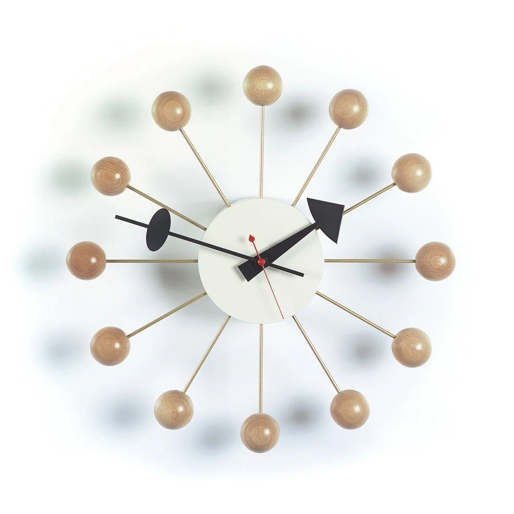 Vitra Clock Vitra George Nelson Clock - Ball Clock - Gr Shop Canada