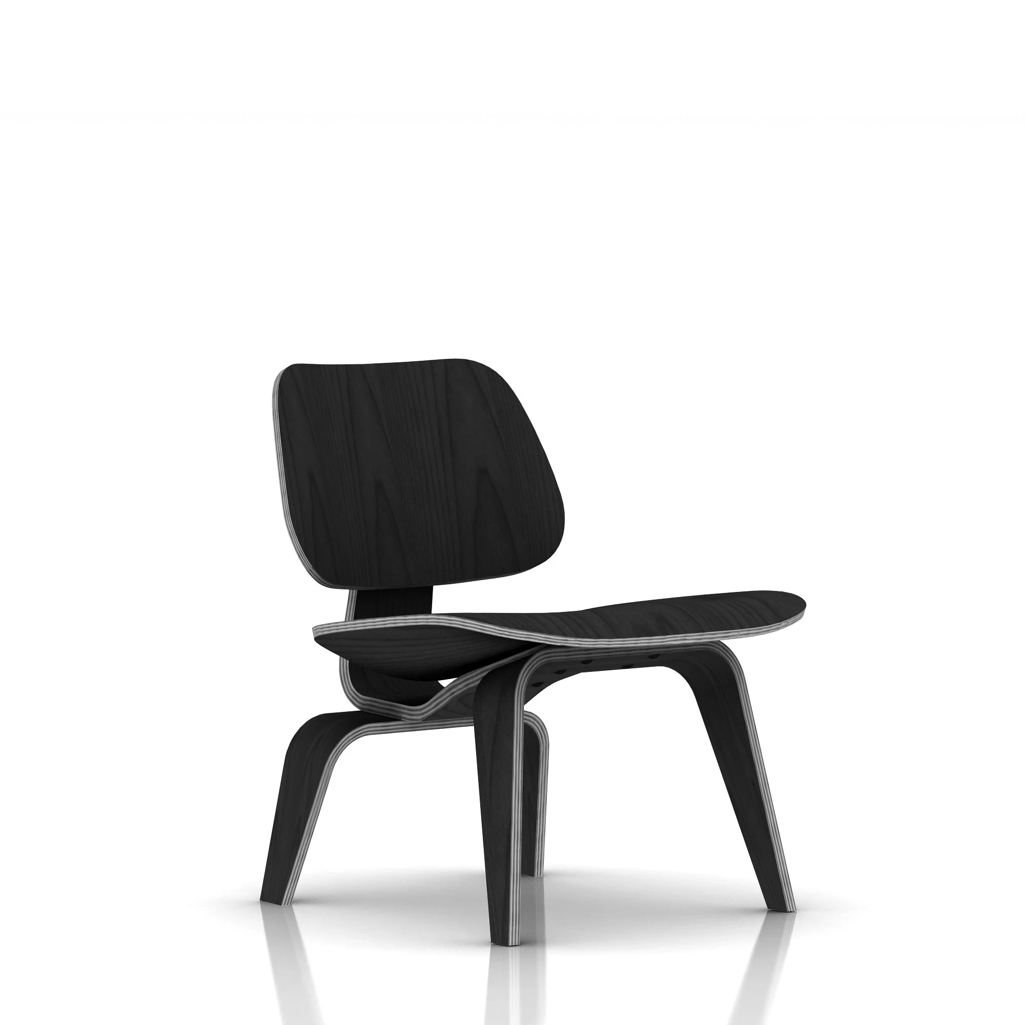 Herman Miller Eamesr Molded Plywood Lounge Chair Wood