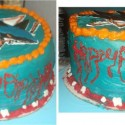 thumbs san jose sharks cake by parallelogasm parallelogasm