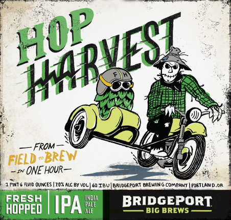 BridgePort Hop Harvest Fresh Hopped IPA