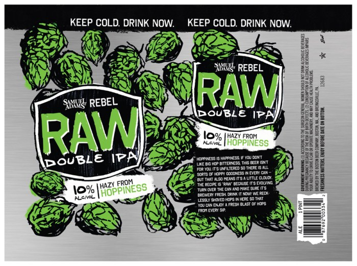 Samuel Adams Raw Double IPA