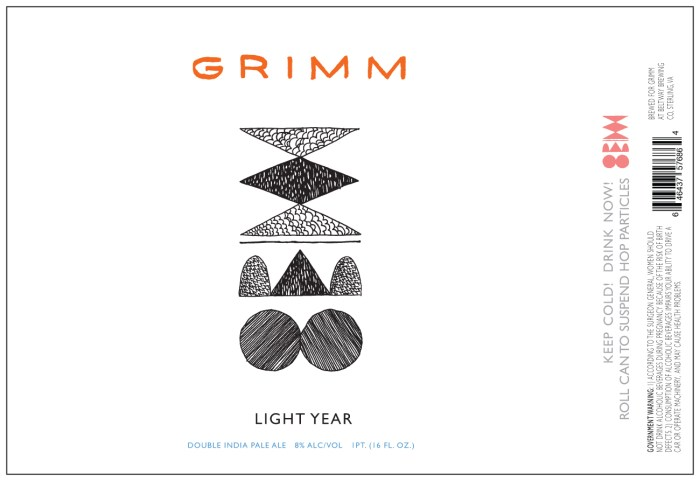 Grimm Light Year Double IPA