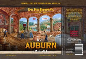 Knee Deep NE Auburn Pale Ale