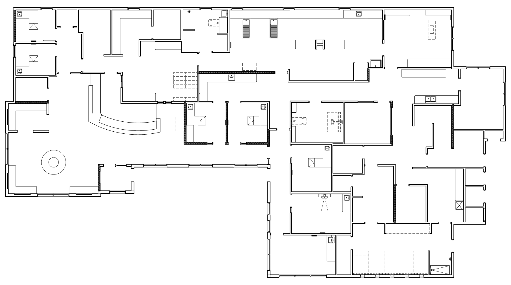 Photo veterinary clinic floor plans images 100 floor for Floor map design