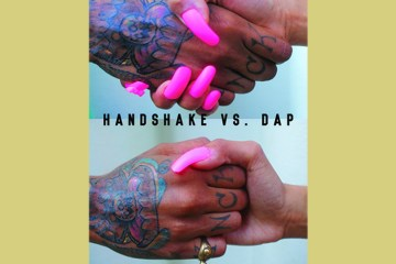 "Count Bass D's ""Handshake vs. Dap"" cover art"