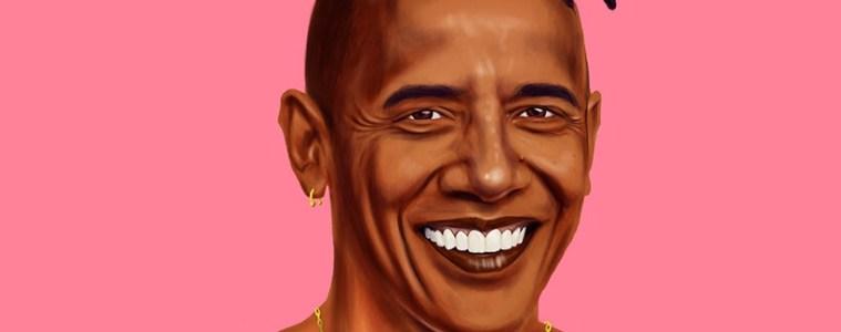 Barack Obama by Amit Shimoni