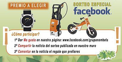 sorteo especial facebook