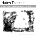 Photoshop cross Hatching brush - Hatch Thatchit