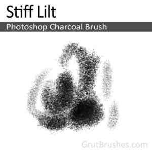 Photoshop Charcoal Brush 'Stiff Lilt'