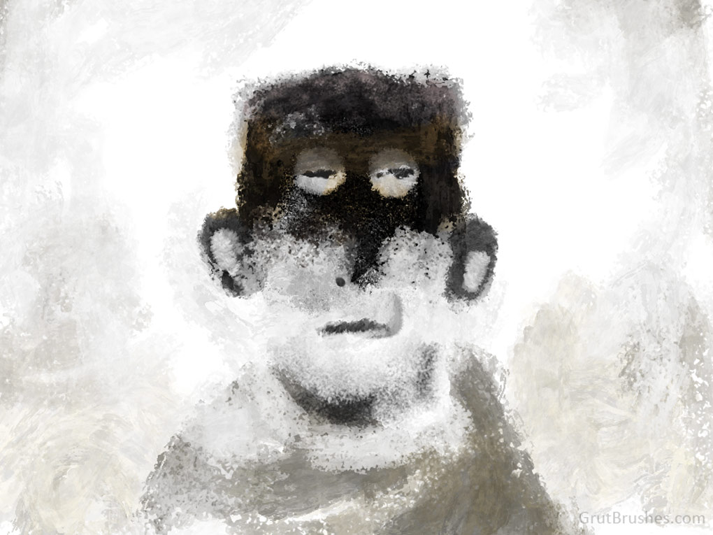 Painted in Photoshop with the Impasto brushes