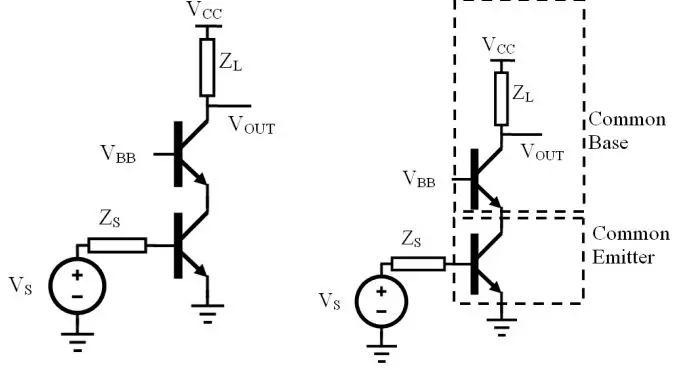 shunt series pair wideband amplifier
