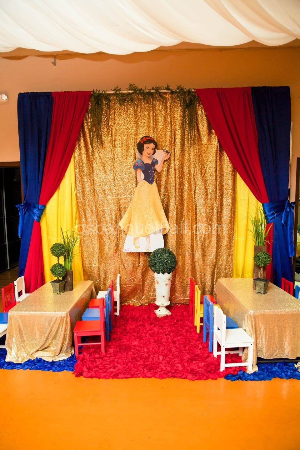 De Decoration Snow White Party Decoration Fiesta De Blancanieves