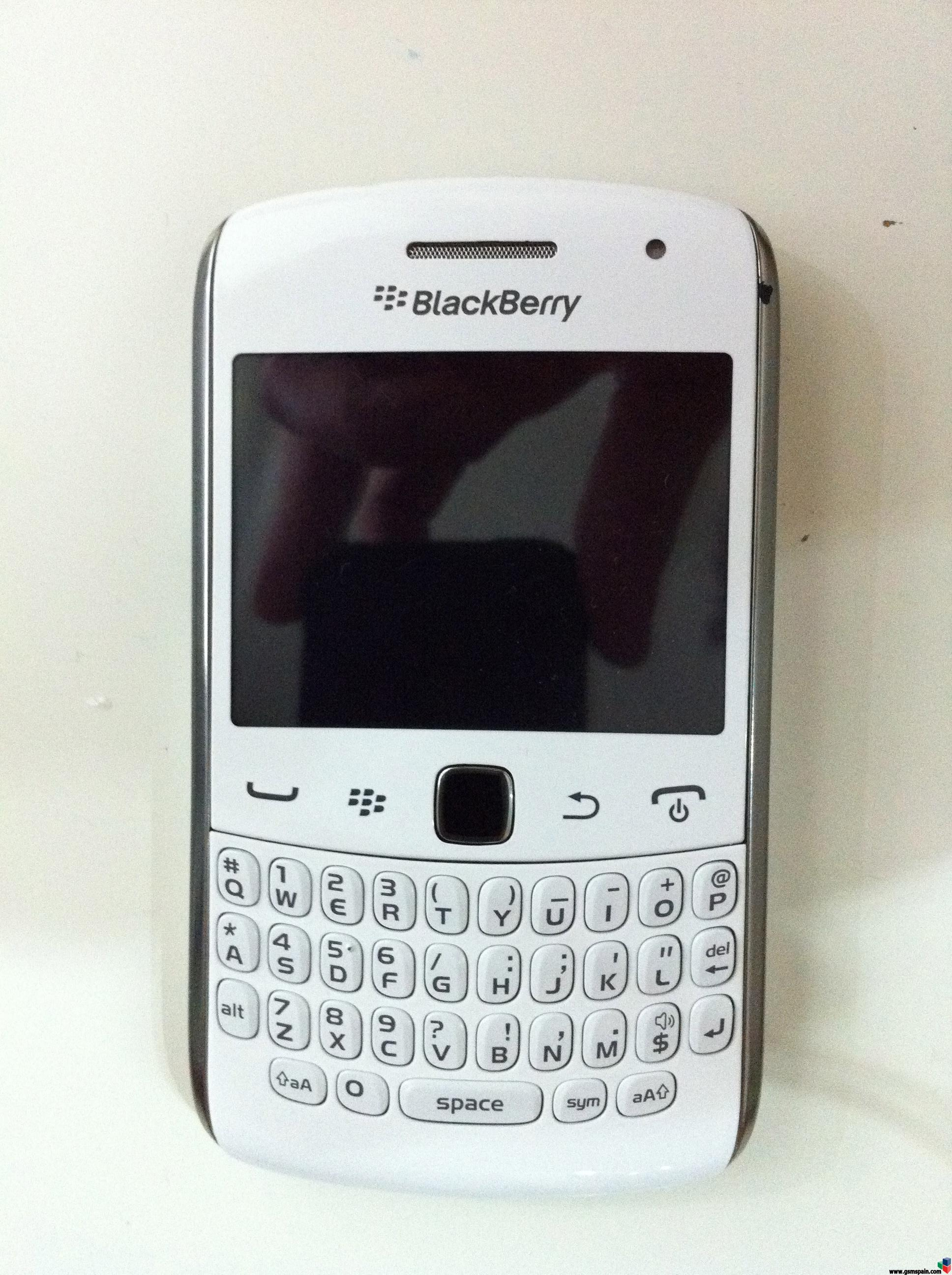 Moviles Libres Blackberry Vendo Cambio Blackberry Curve 9360 Libre Blanca
