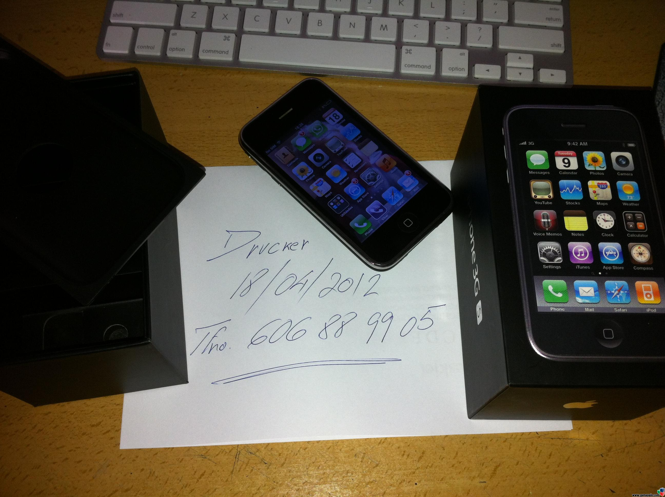 Iphone 3 Precio Libre Vendo Iphone 3gs 16 Gb Libre Negro