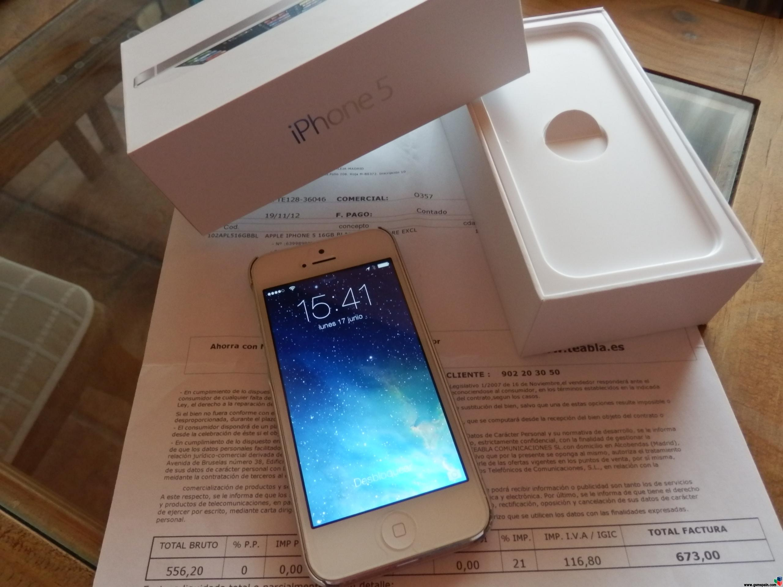 Phone House Iphone 5 Libre Vendo Iphone 5 Libre Blanco 16gb Ios 7