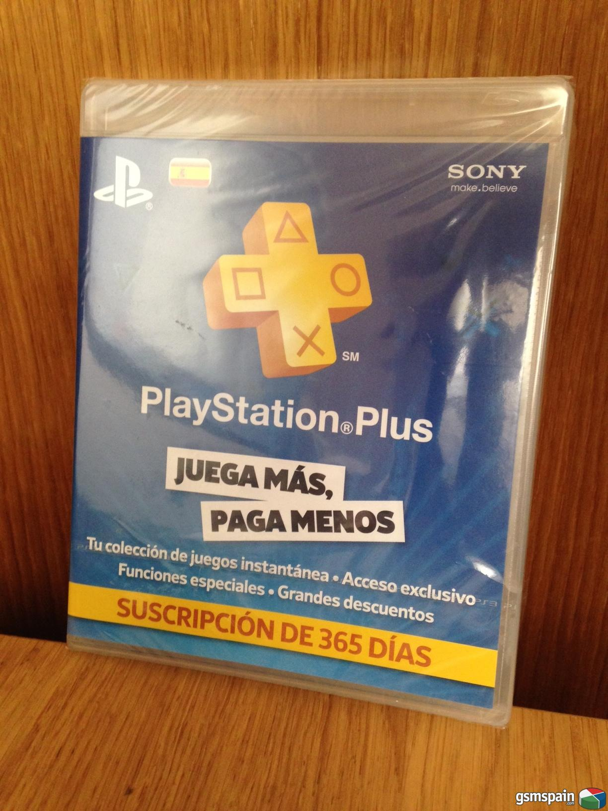 Playstation Plus 12 Meses Vendo Código Playstation Plus 12 Meses