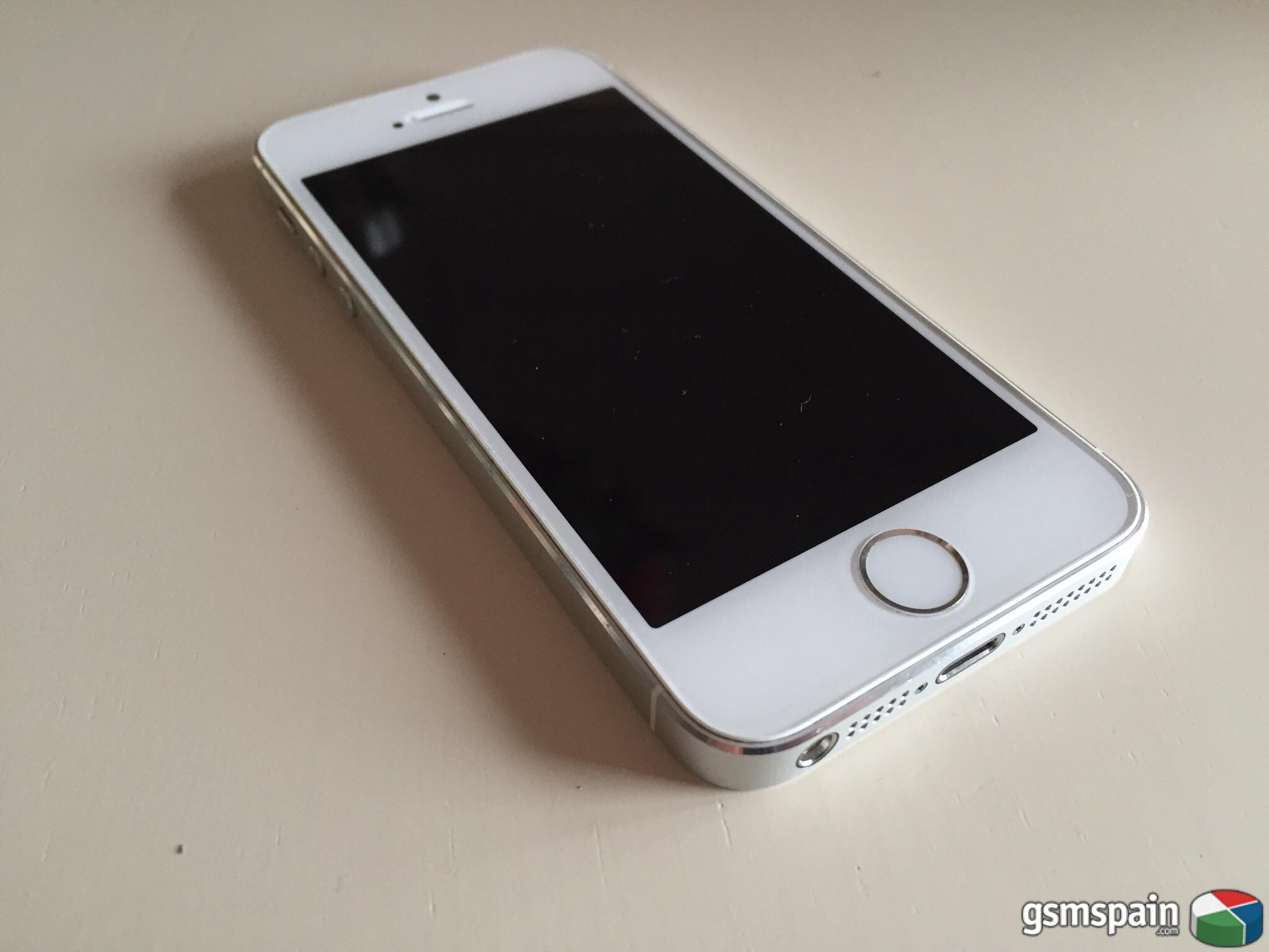 Venta De Moviles Libres Iphone Vendo Iphone 5s 16 Gb Libre De Origen Blanco Plata