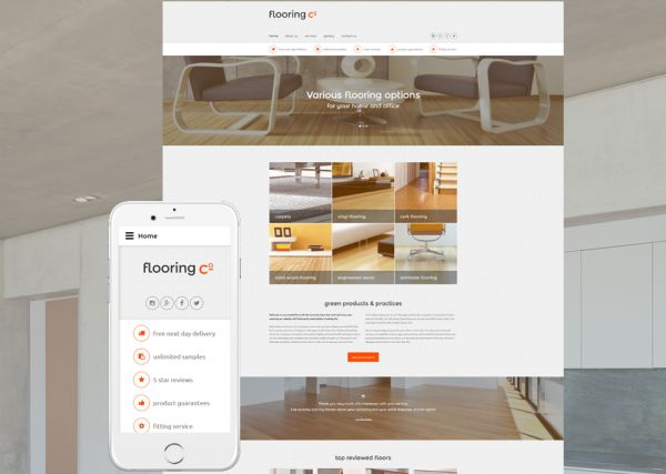 25+ Lovely Interior and Furniture HTML and Bootstrap Templates (Free - interior design web template