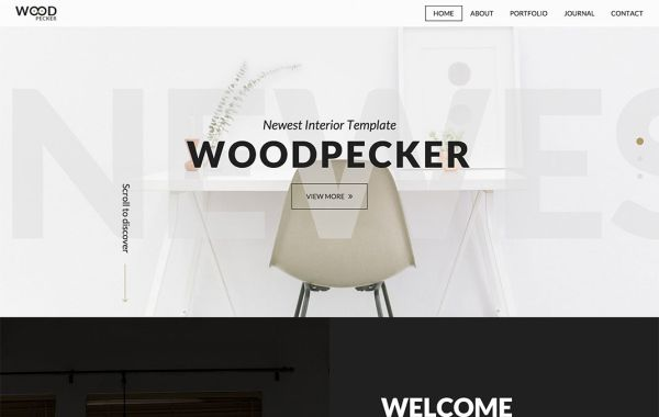 25+ Lovely Interior and Furniture HTML and Bootstrap Templates (Free