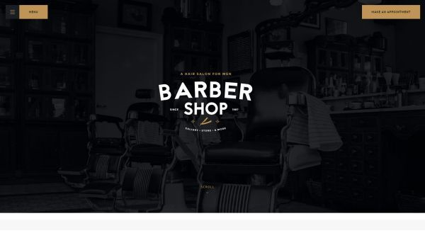 Barber Shop and Tattoo Salon WordPress Themes for May 2017 GT3 Themes