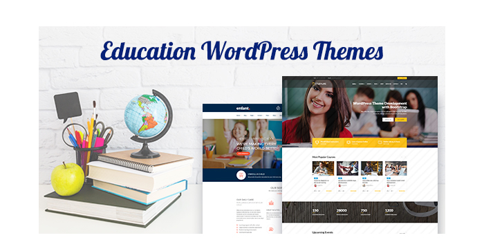 Education WordPress Themes for Summer 2017 GT3 Themes