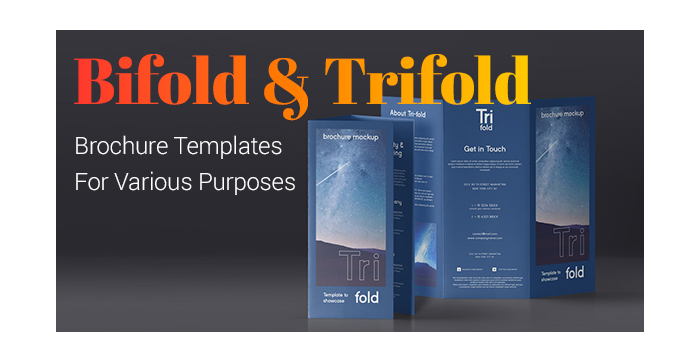 Bifold and Trifold Brochure Templates For Various Purposes GT3 Themes
