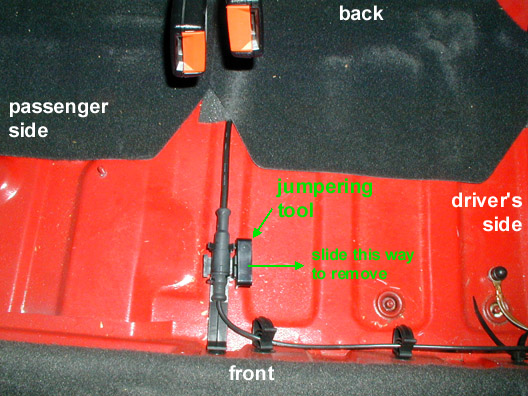 VW Volkswagen GTI-VR6 List - Old Library - How-to Jumper the ECM\u0027s